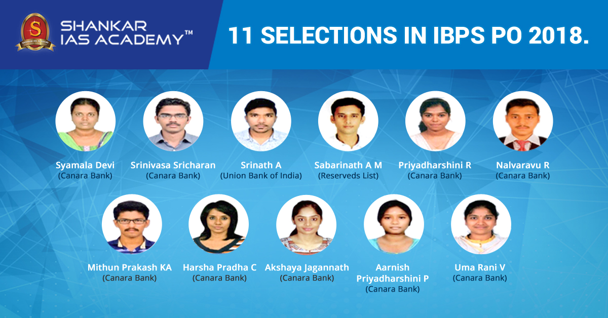 IBPS PO Toppers